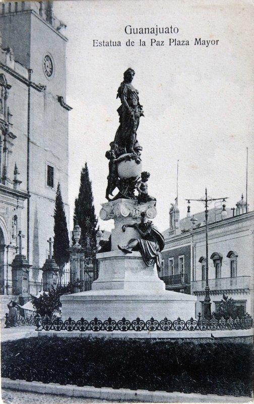 Estatua de la Paz Hacia 1909
