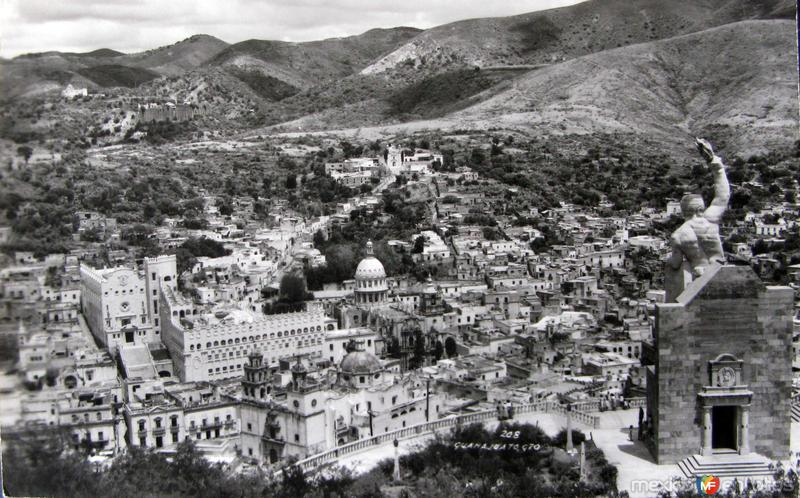 Fotos de Guanajuato, Guanajuato, México: Panorama Hacia 1945