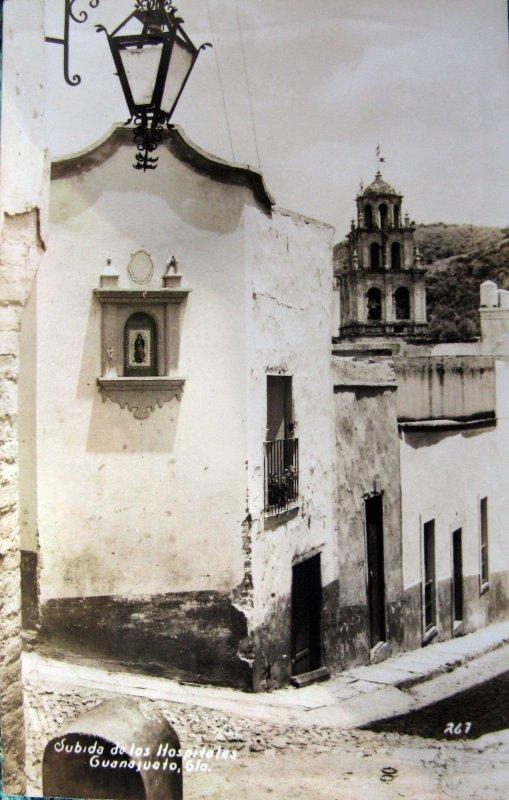 Callejones tipicos DE LOS HOSPITALES Hacia 1945