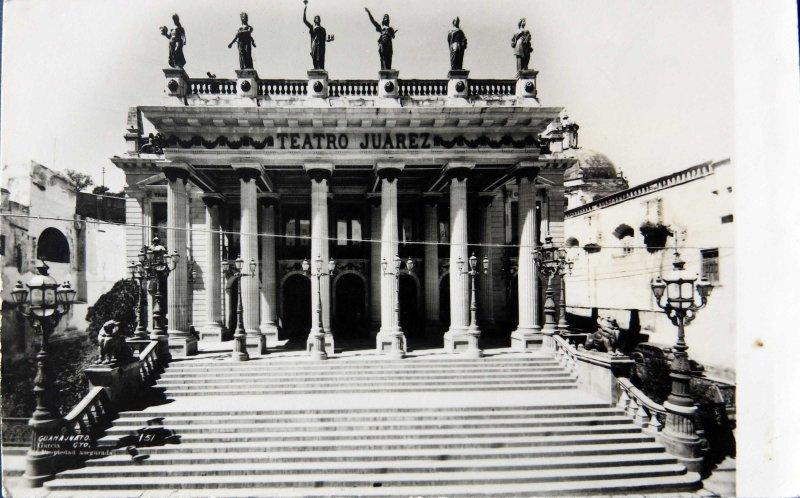 Teatro Juarez Hacia 1945