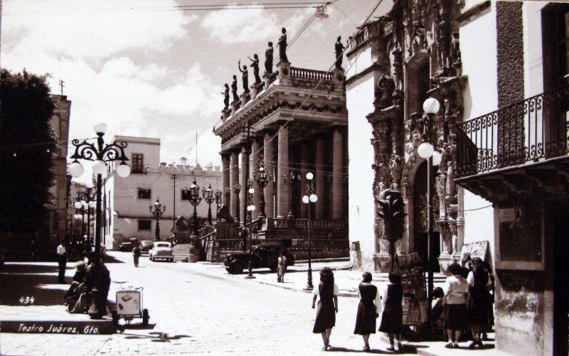 Teatro Juarez Hacia 1940