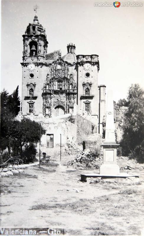 Iglesia de la Valenciana Hacia 1940