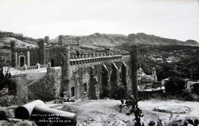 Fotos de Guanajuato, Guanajuato, México: Hotel Castillo Santa Cecilia Hacia 1945