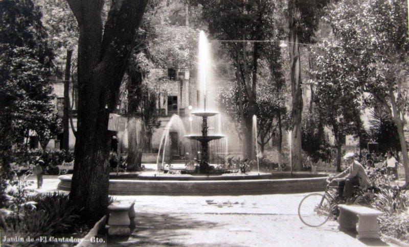 Jardin el Cantador Hacia 1945