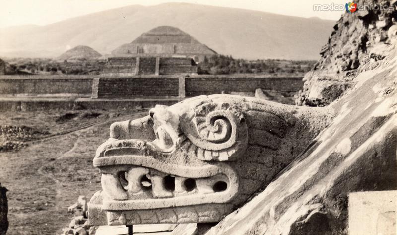 Vista de Teotihuacán