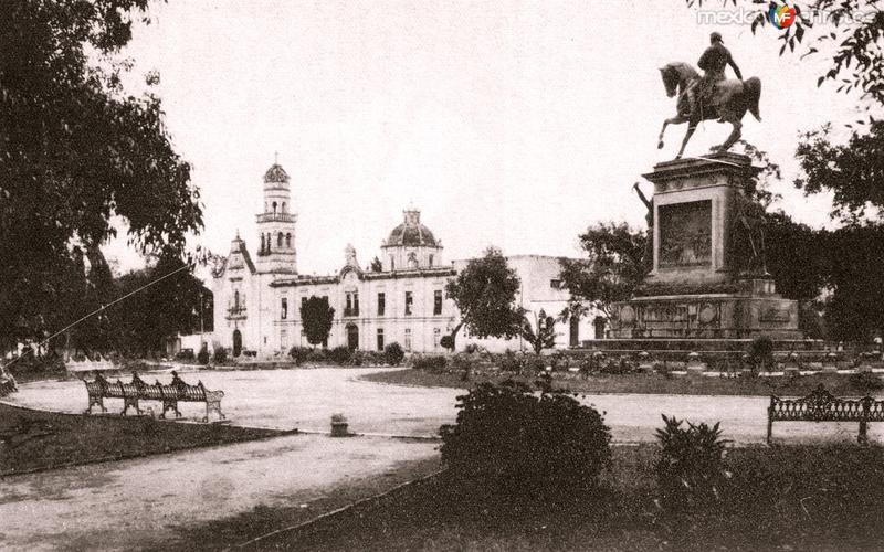 Santuario de Guadalupe, Hospital Militar y Estatua de Morelos