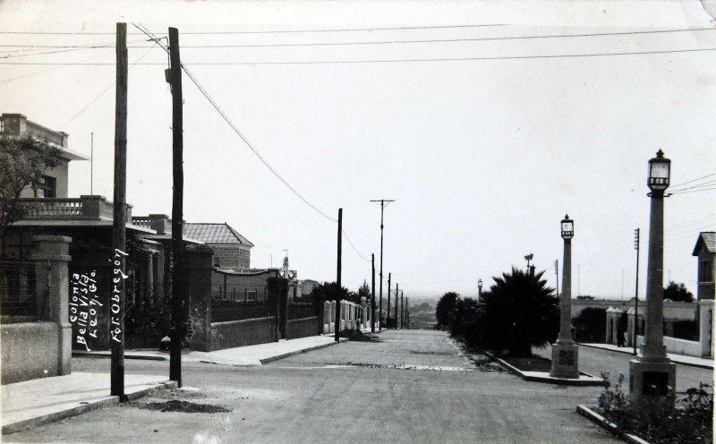 Escena Callejera COLONIA BELLAVISTA Hacia 1945
