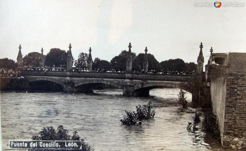 PUENTE DEL COECILLO Hacia 1909