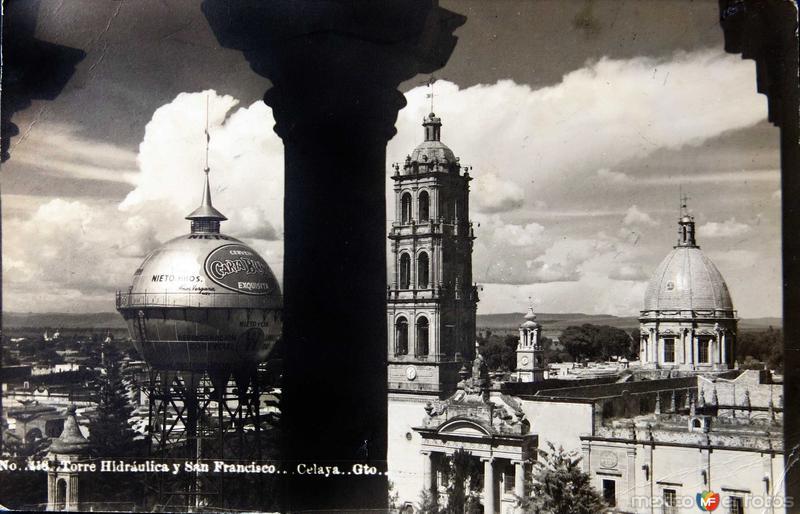 Torre Hidraulica Hacia 1945