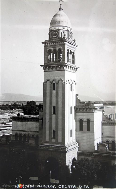 MERCADO MORELOS Hacia 1945