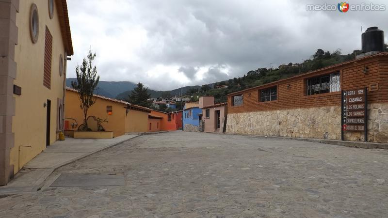 Calles del Pueblo Mágico. Julio/2014