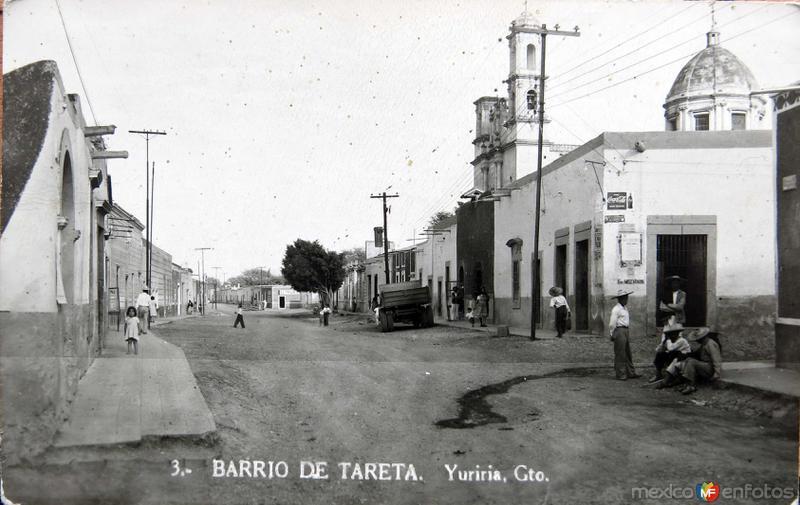 Barrio de Tareta Hacia 1945