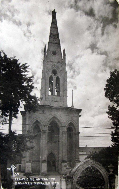 TEMPLO DE LA SALETA Hacia 1945