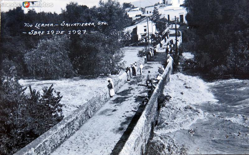 RIO LERMA 19 DE SEPTIEMBRE DE 1927 Hacia 1927