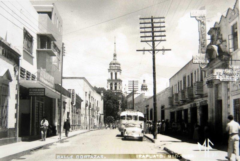 CALLE CORTAZAR Hacia 1945