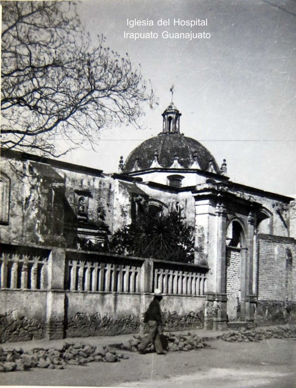 IGLESIA DEL HOSPITAL Hacia 1945