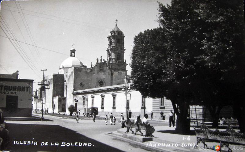 IGLESIA DE LA SOLEDAD Hacia 1945