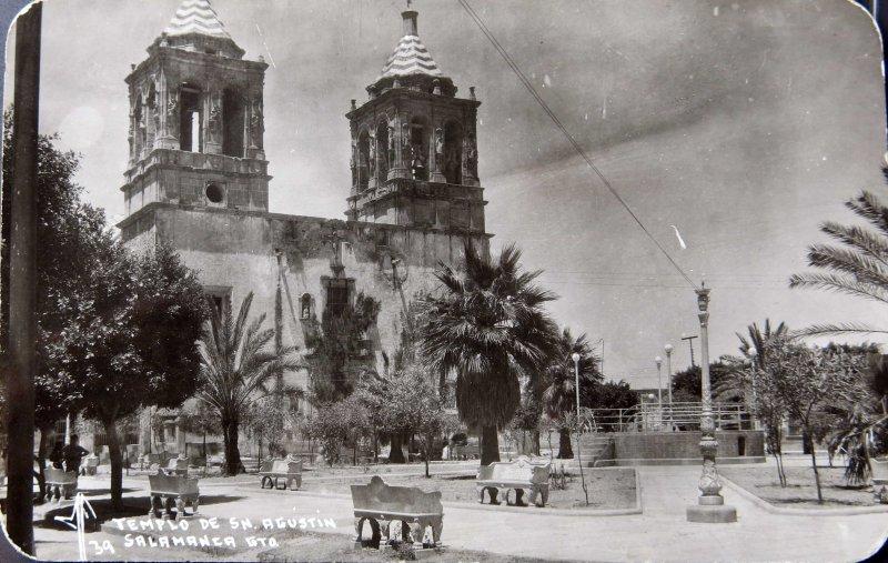 TEMPLO DE SAN AGUSTIN Hacia 1945