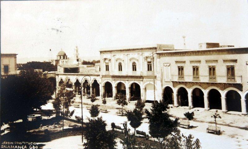 JARDIN CONSTITUCION Hacia 1945