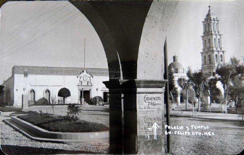 PALACIO Y TEMPLO Hacia 1945