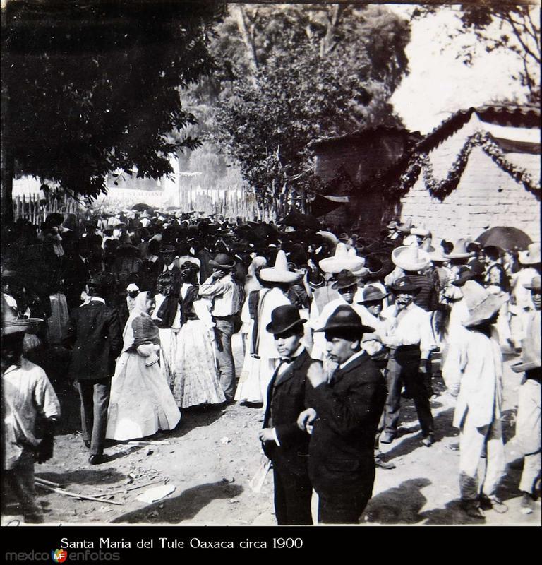 DIA DE FIESTA Hacia 1900