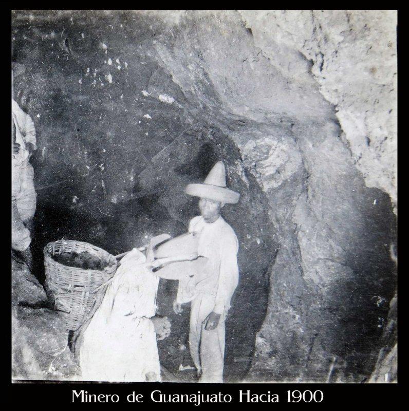 Minero Hacia 1900