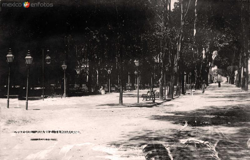 PARQUE JUAREZ Hacia 1900