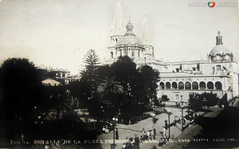 LA CATEDRAL Hacia 1906