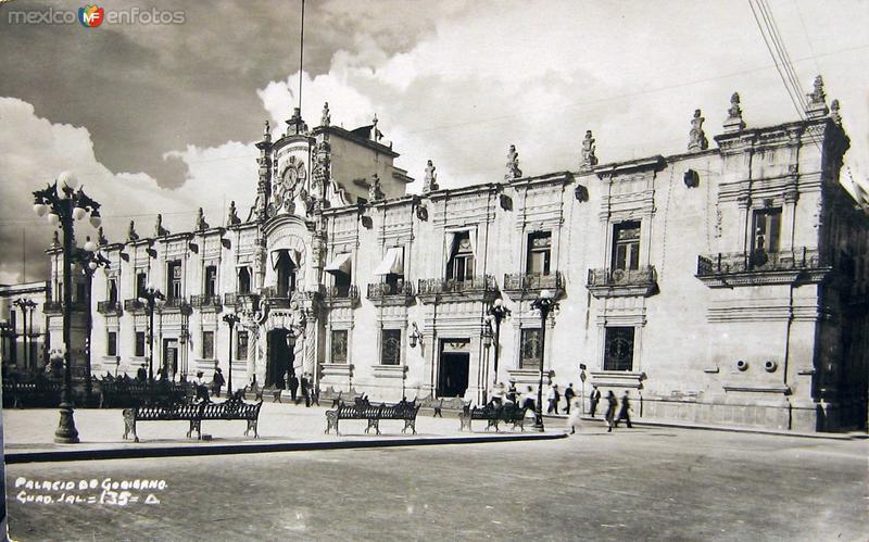 PALACIO DE GOBIERNO Hacia 1909