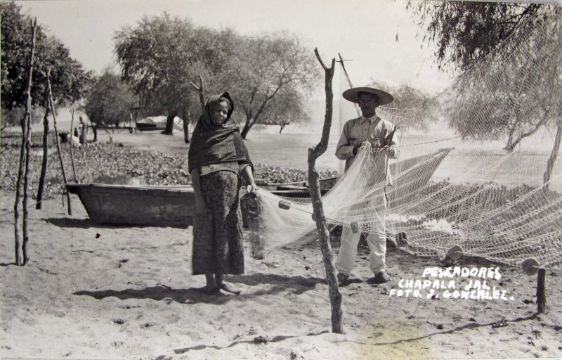 PESCADORES Hacia 1940