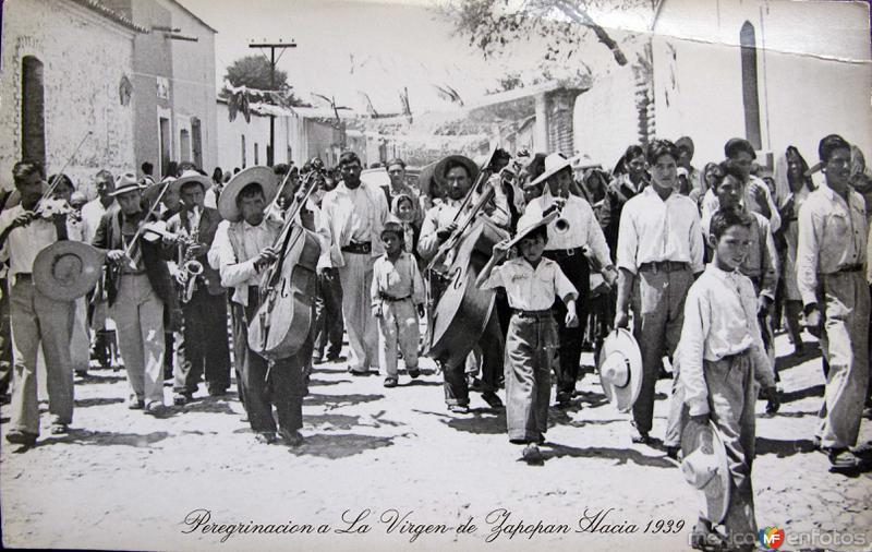 UNA PEREGRINACION Hacia 1939