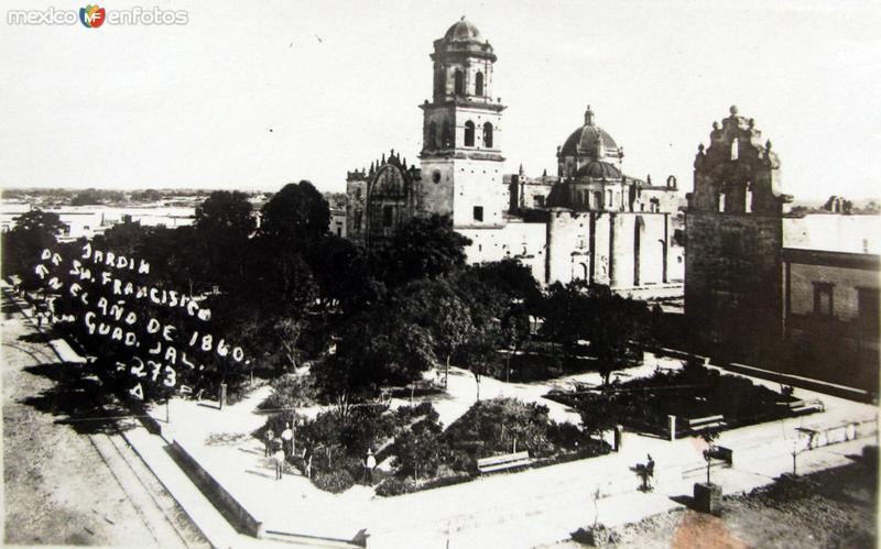 IGLESIA DE SAN FRANSICO Hacia 1890