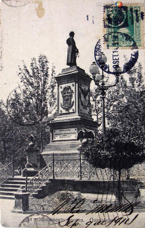 MONUMENTO A CORONA Hacia 1913