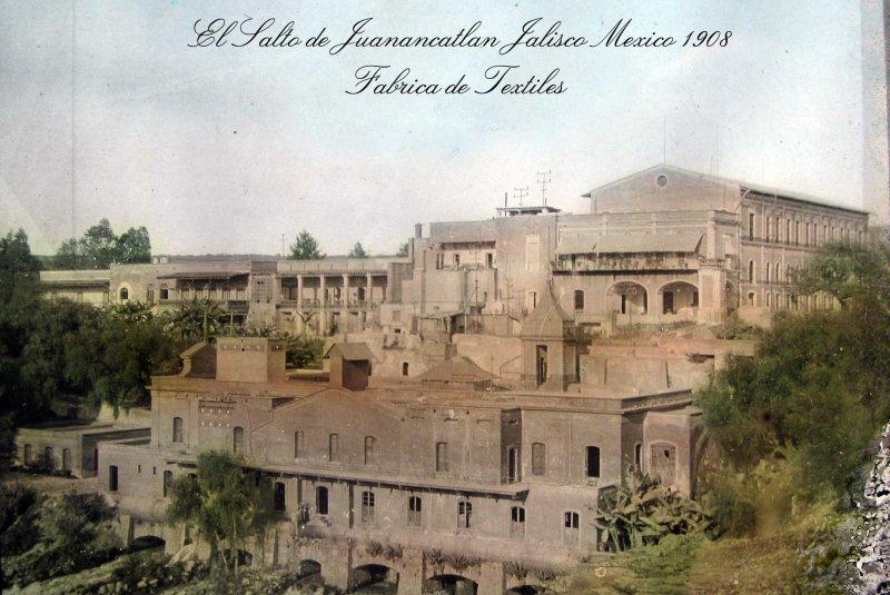 Fabrica de Textiles Hacia 1900