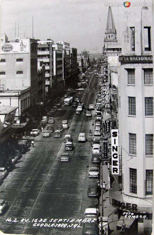 AVENIDA 16 DE SEP Hacia 1945