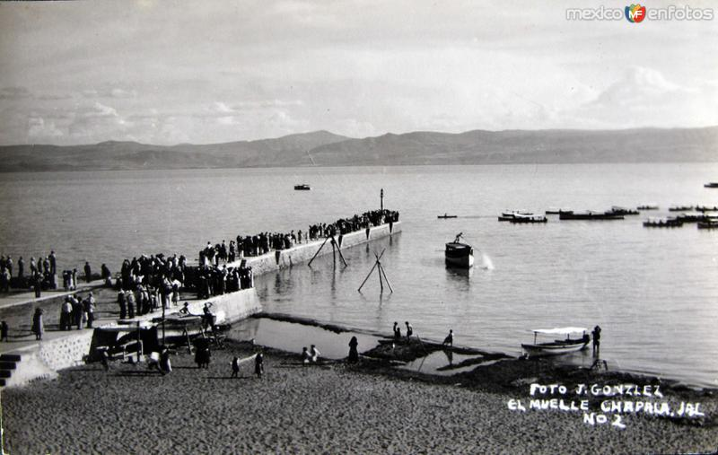PANORAMA EL MUELLE Hacia 1945