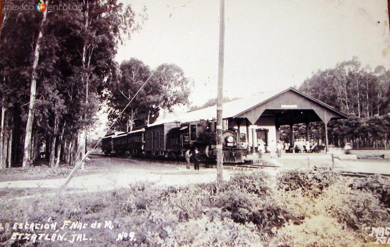 ESTACION FERROVIARIA Hacia 1920