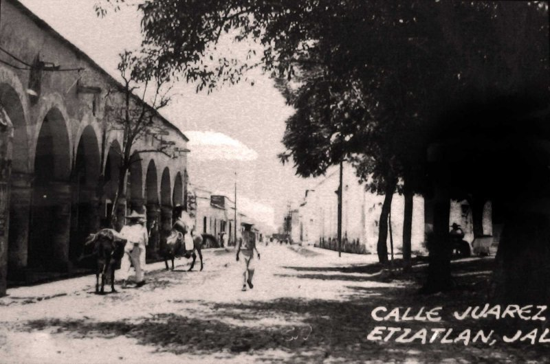 CALLE JUAREZ Hacia 1920
