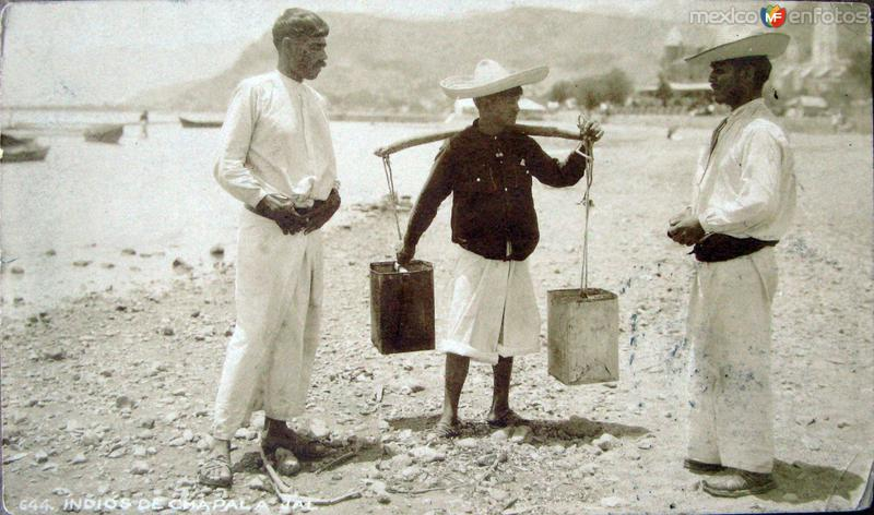 NATIVOS DE Hacia 1926