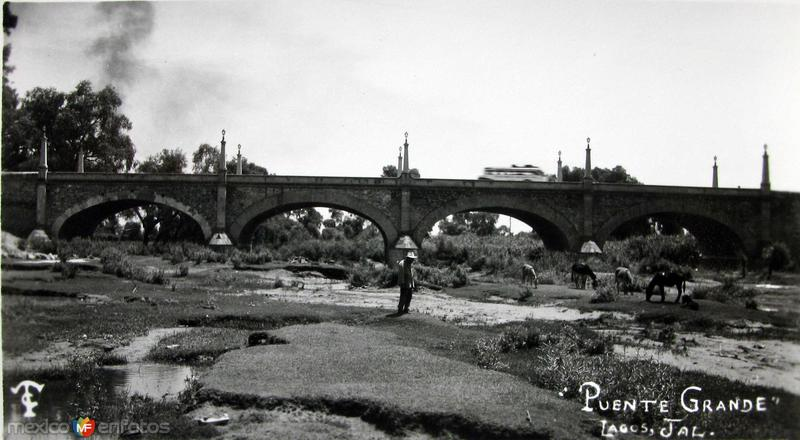 PUENTE GRANDE Hacia 1945