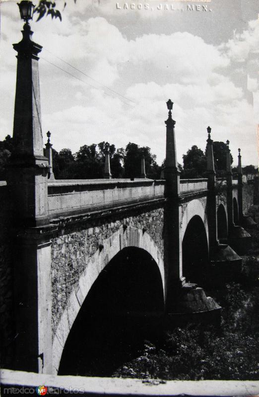 EL PUENTE PANORAMA Hacia 1945