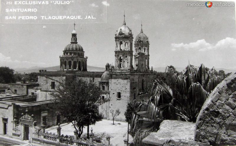 PANORAMA LA IGLESIA Hacia 1945