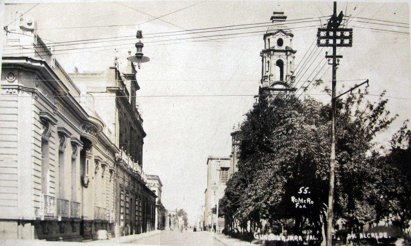 AVENIDA ALCALDE Hacia 1920