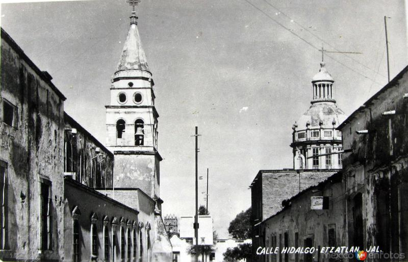 CALLE HIDALGO Hacia 1948