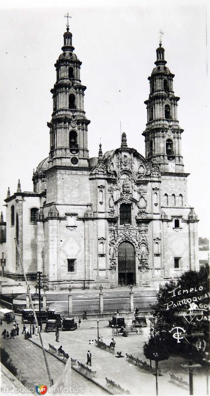 Fotos de San Juan de los Lagos, Jalisco, México: PANORAMA Hacia 1945