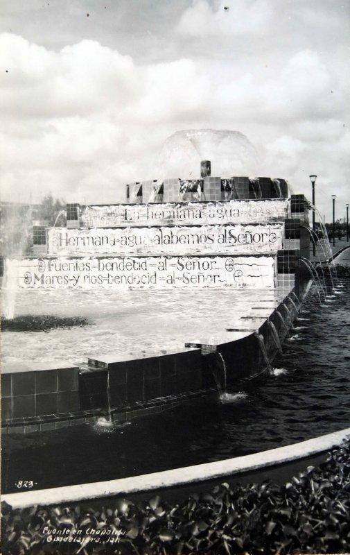 FUENTE CHAPALITA Hacia 1945