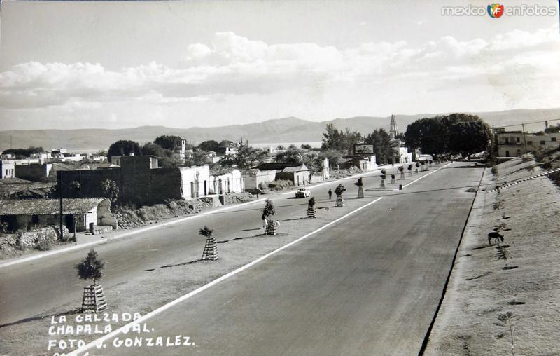PANORAMA LA CALZADA Hacia 1945