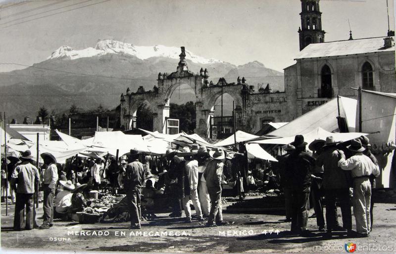 VOLCAN IXTACIHUATL Hacia 1945
