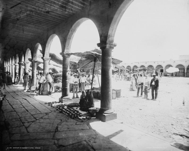 El Mercado (por William Henry Jackson, 1891)
