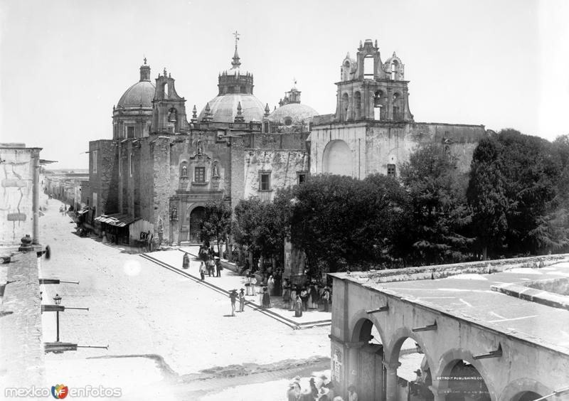 Templo de San Diego (por William Henry Jackson, c. 1888)